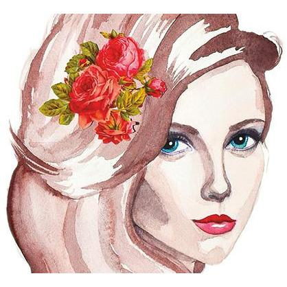 Sultry Lady Giclee Fine Art Print