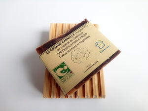 Le Orange-Cannelle 100g - Savon artisanal - Fabriqué en France