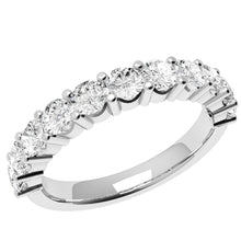Load image into Gallery viewer, Cherish -  Swarovski® Crystals Birthstone Eternity Ring 10YR ANNIVERSARY FEATURE!