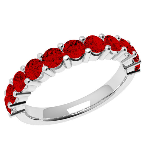 Image of Cherish -  Swarovski® Crystals Birthstone Eternity Ring 10YR ANNIVERSARY FEATURE!