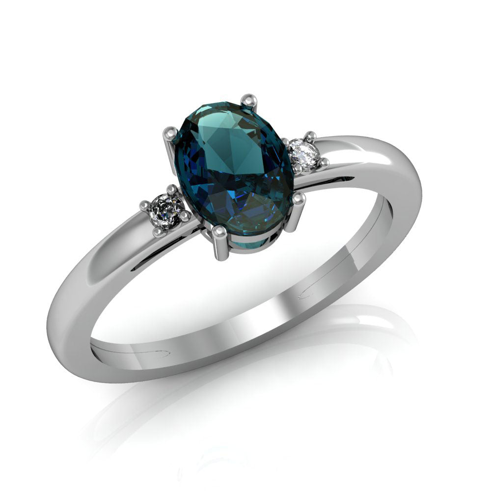 Colour Change Swarovski® & Alexandrite Rings