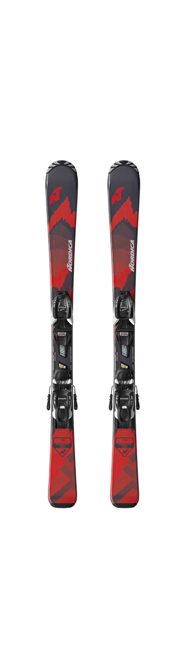 Nordica Youth Navigator Team Skis With M4.5 FDT Bindings 2021