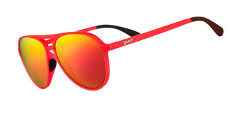 Goodr Captain Blunt's Red-Eye Sunglasses 2021