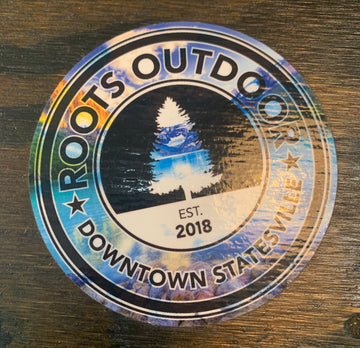 Roots Outdoor Store Logo Stickers