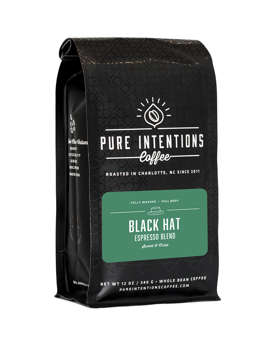 Pure Intentions Black Hat Espresso Blend - Coffee