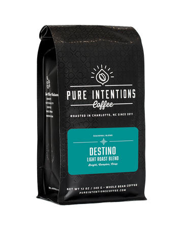 Pure Intentions Destino - Light Roast Blend - Coffee