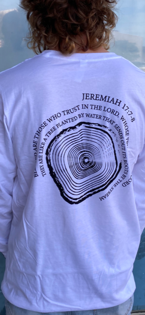 Roots Outdoor Tree Scripture Long Sleeve Shirt