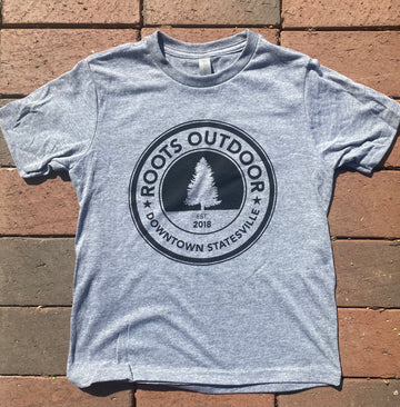 Youth Roots Outdoor Logo Tee Shirt