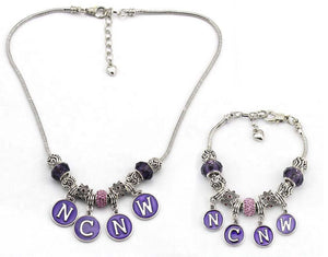 Set - NCNW Purple Circles