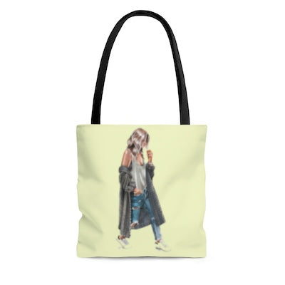 City Girl - Stylish Tote Bag large