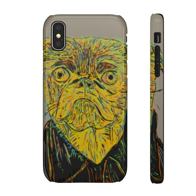 Bulldog - iPhone X phone case