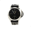 Panerai Luminor GMT Pam 320 44mm Black Dial SS Case