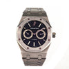 AUDEMARS PIGUET Royal Oak Day-Date 39mm Stainless Steel Black Dial Men's Watch