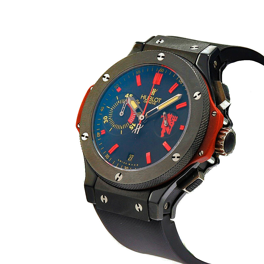 HUBLOT Big Bang 44mm Chronograph Red Devil Manchester United Limited Watch