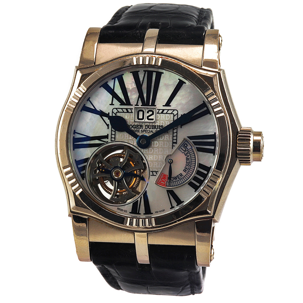 ROGER DUBUIS Sympathie Tourbillon Marine Singapore Special Edition Watch