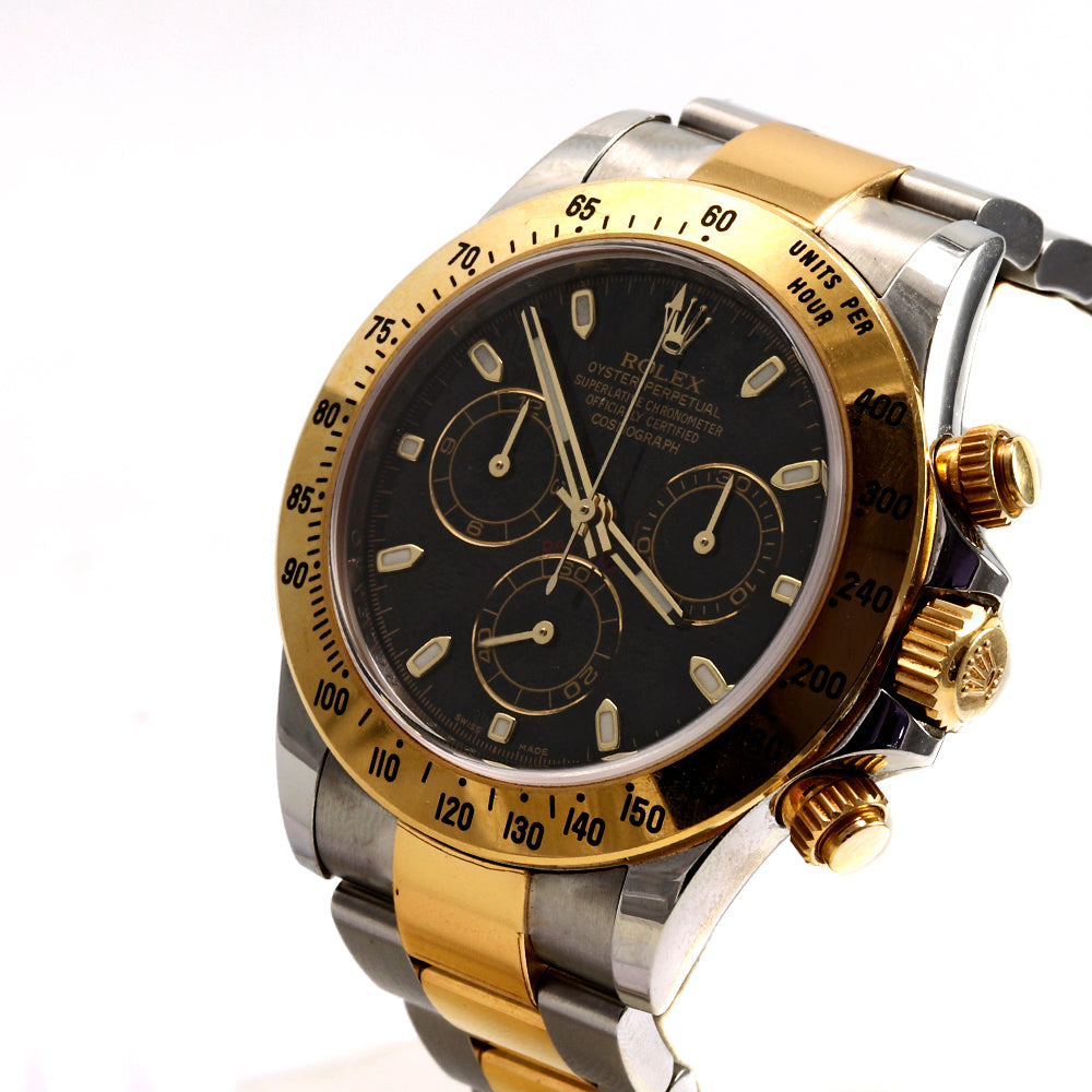 ROLEX Daytona 116523 40mm Stainless Steel&18K Yellow Gold Chronograph Watch