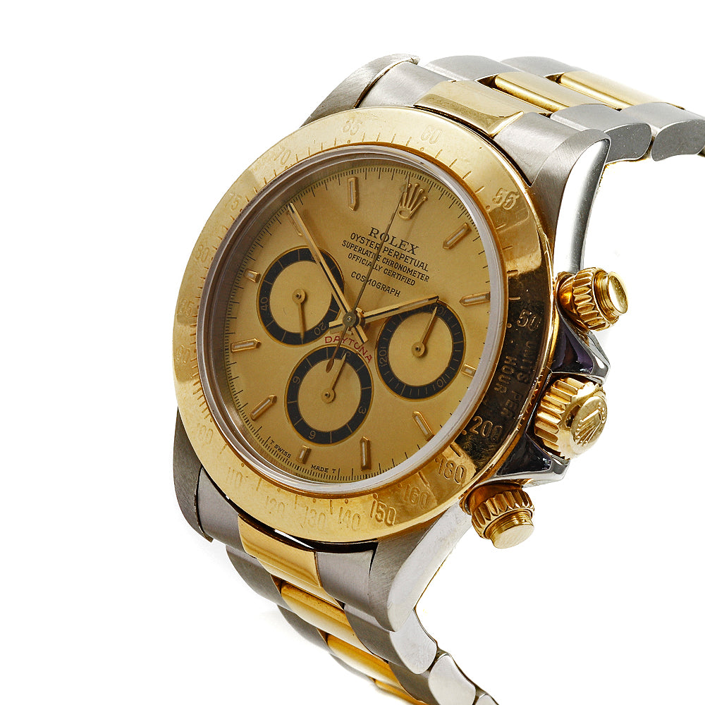 ROLEX Daytona 16523  40 mm Stainless Steel&18K Yellow Gold Chronograph Watch