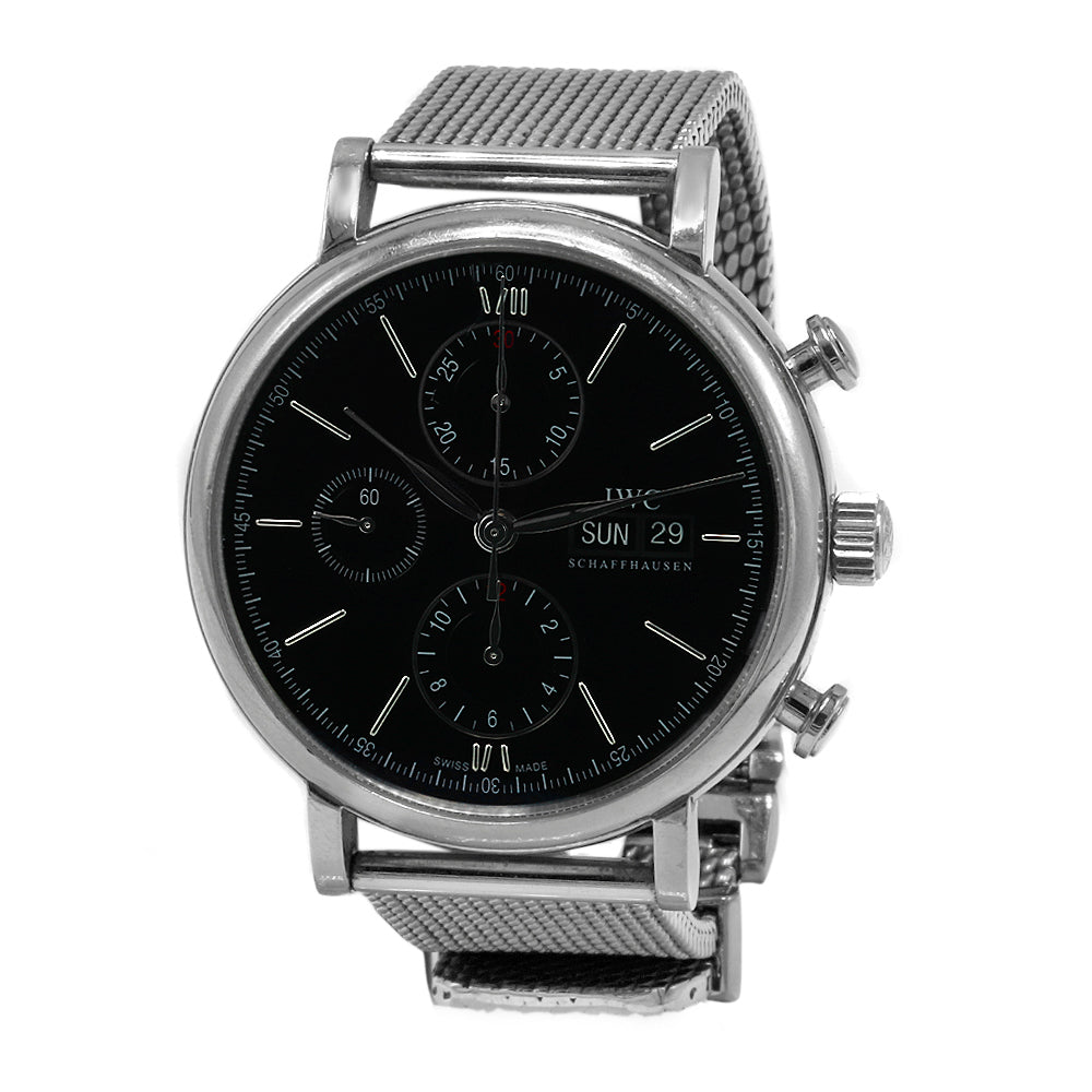IWC Portofino Chronograph Automatic Stainless Steel IW391010 Watch