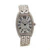 Frank Muller Sunset Silver Dial Tonneau Diamond Watch