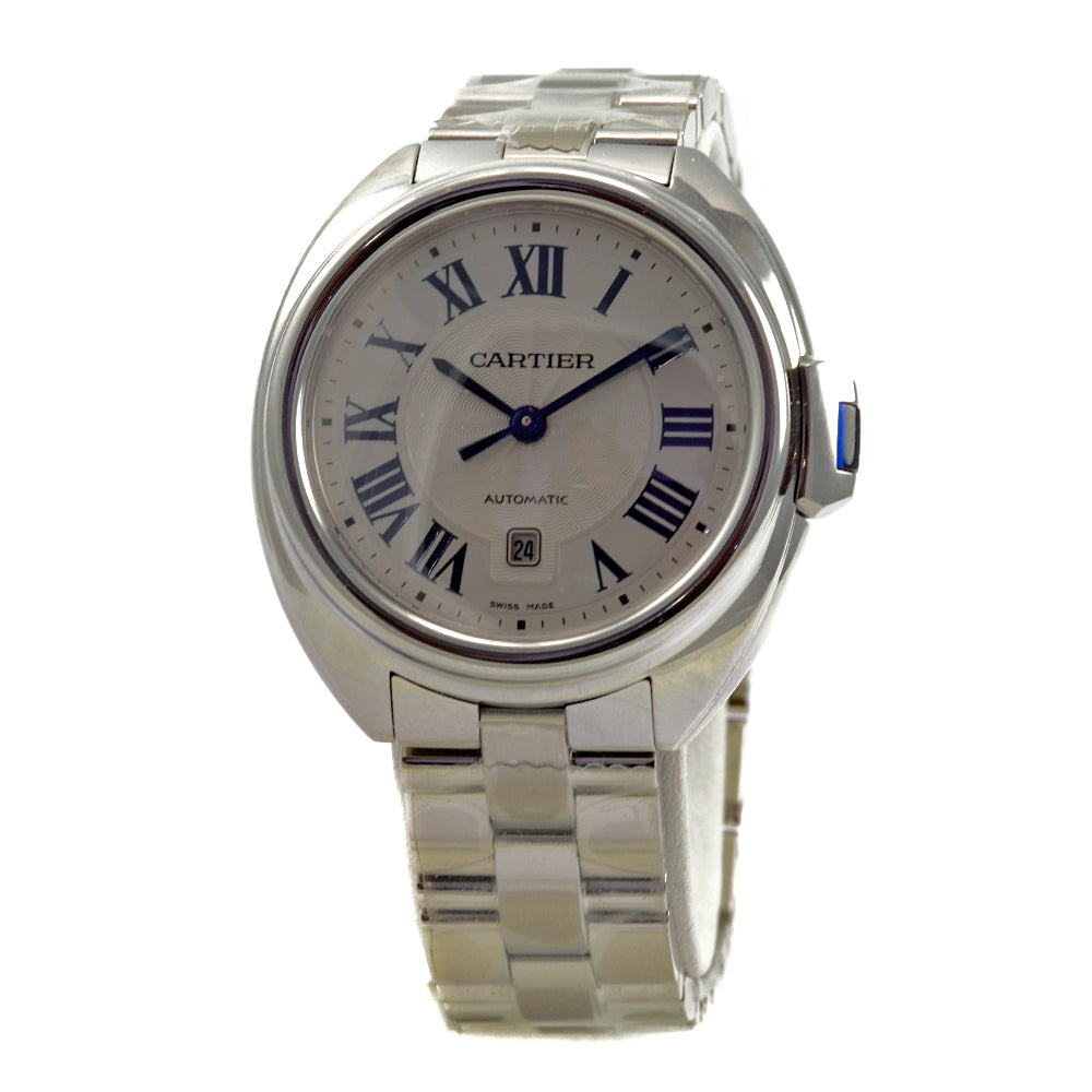 CLÉ de CARTIER WSCL0005 31mm Stainless Steel Date Brand New 2019 Ladie's Watch