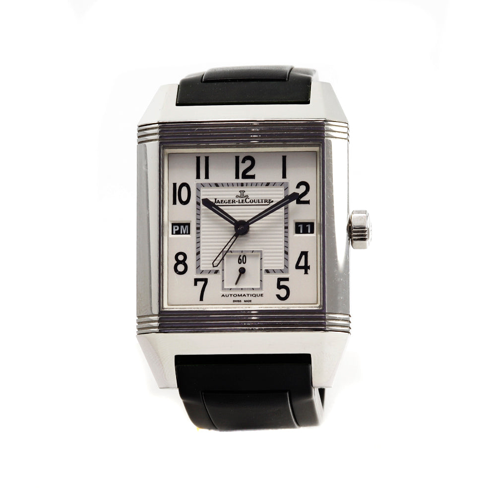 JAEGER LECOULTRE Q7008620 Reverso Squadra Hometime Stainless Steel 41x35mm Watch