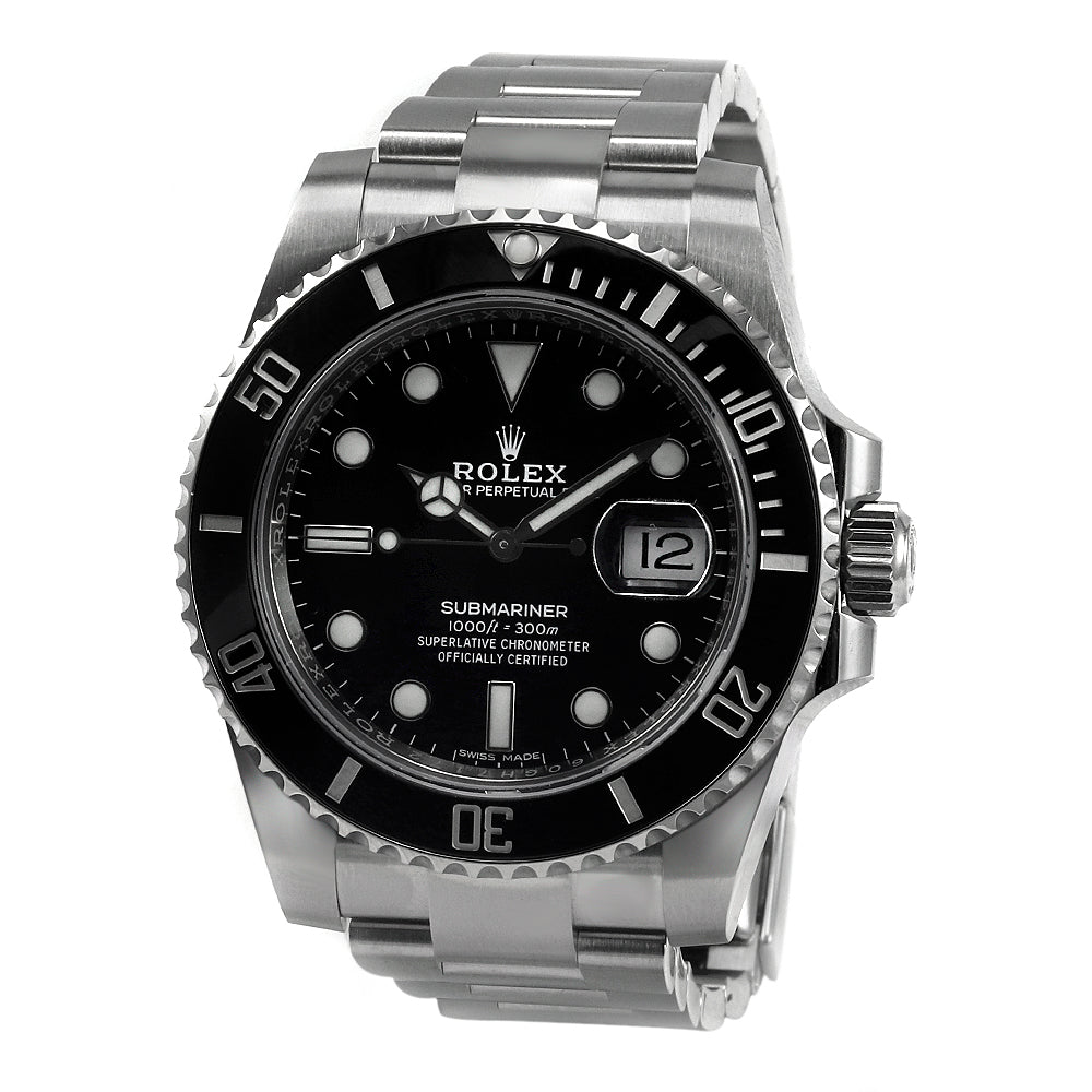 ROLEX 116610LN Submariner Date  Stainless Steal  Ceramic Bezel Automatic Watch
