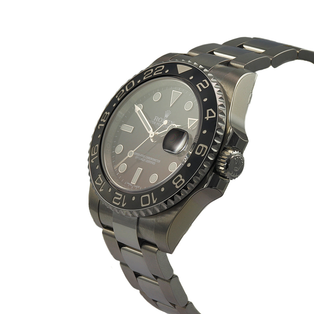 ROLEX GMT-Master II 40 mm Oyster Perpetual Date Stainless Steel Men's Watch