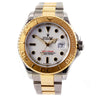 ROLEX Yacht Master 41mm Stainless Steel&18K Yellow Gold White Dial Men's Watch