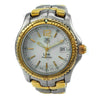 TAG HEUER LINK 39MM STAINLESS STEEL AND 18K YELLOW GOLD WATCH