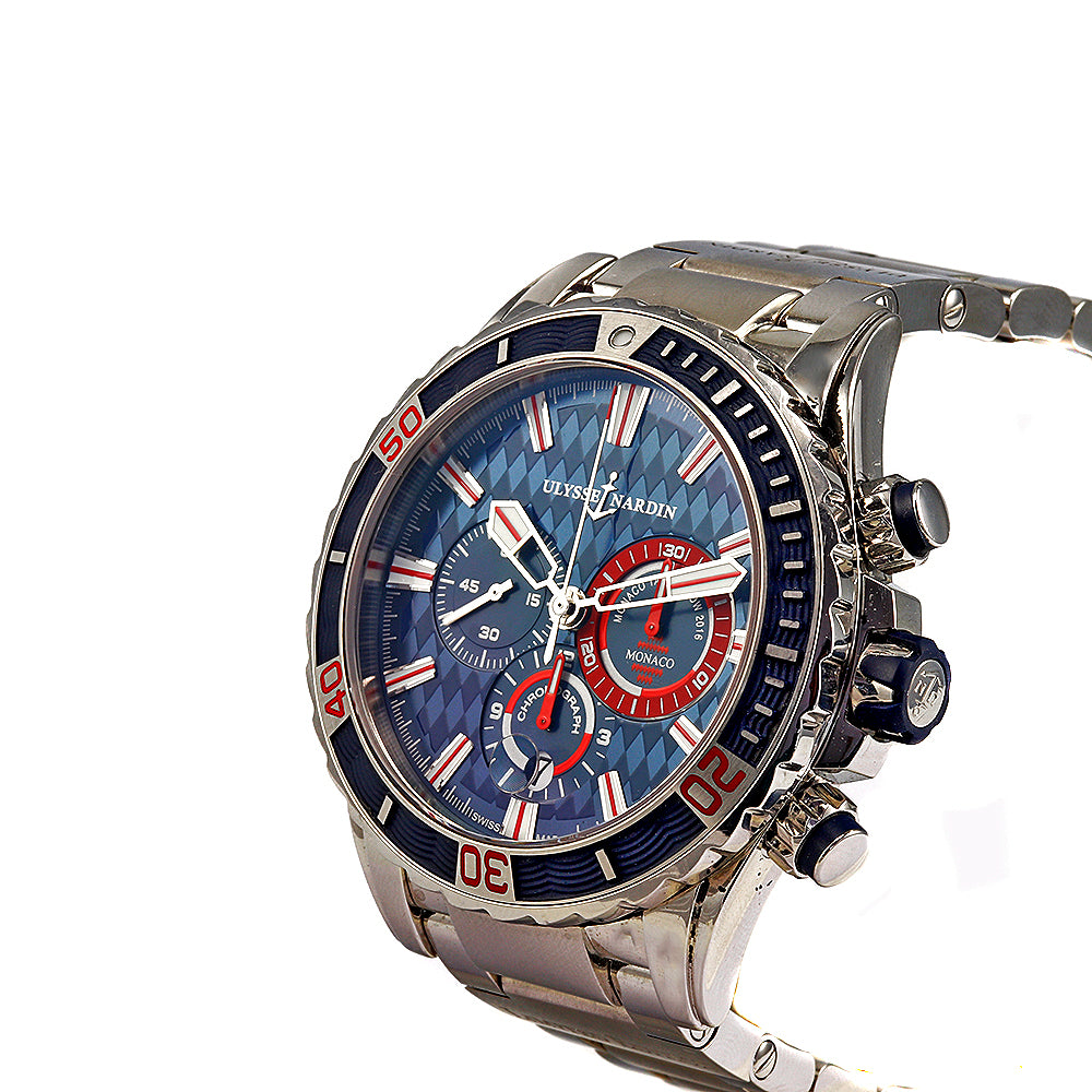 ULYSSE NARDIN Diver Chronograph 44 mm Monaco Limited Edition Men's Watch
