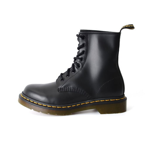 Dr. Martens 1460 8-Eye Boot Adult Unisex OR Women Smooth Leather Black 11821006