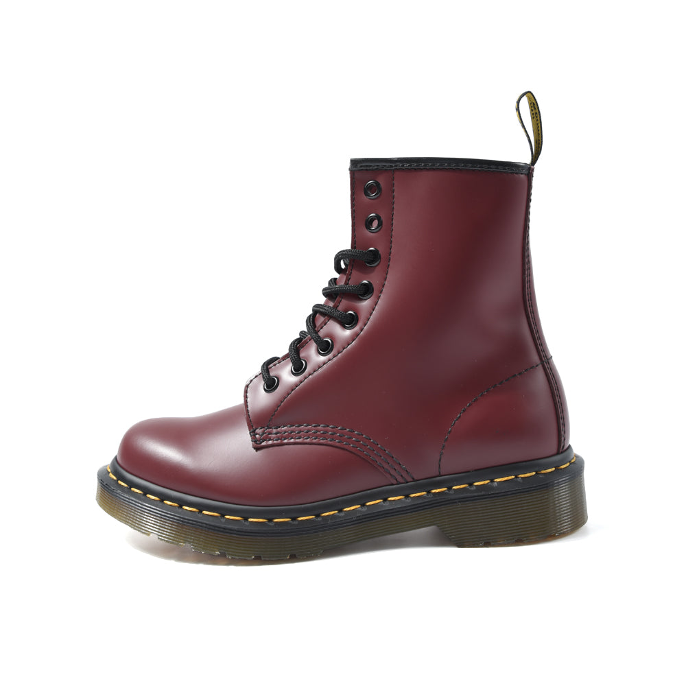 Dr. Martens 1460 8-Eye Boot Adult Unisex OR Women Smooth Leather Cherry Red 11821600