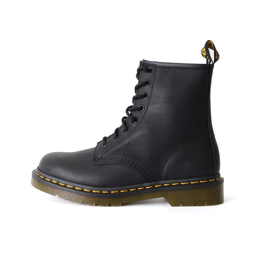 Dr. Martens 1460 8-Eye Boot Adult Unisex OR Men Greasy Leather Black 11822003