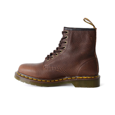 Dr. Martens 1460 8-Eye Boot Adult Unisex OR Men Grizzly Leather Brown 11822202