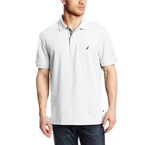 Nautica Men's Short-Sleeve Solid Deck Polo Shirt K41050