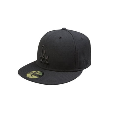 MLB COLLECTION New Era LOS ANGELES DODGERS BLACK ON BLACK 59FIFTY FITTED 10047317
