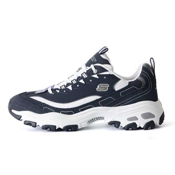 Skechers Men's D'Lites Sneaker Original Memory Foam Navy