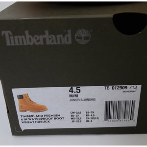 "Timberland Kids' 6"" Premium Waterproof Boots for Toddlers 12909 12909713"