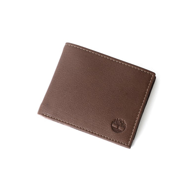 Timberland Men's Leather Wallet With Attached Flip Pocket D10218