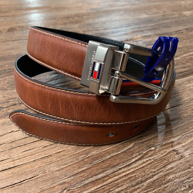 Tommy Hilfiger Men's Reversible Belt 11TL08X014
