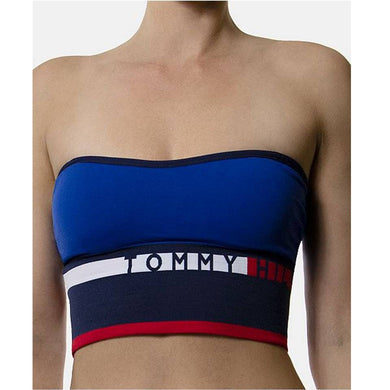 TOMMY HILFIGER Women's Seamless Convertible Longline Bandeau