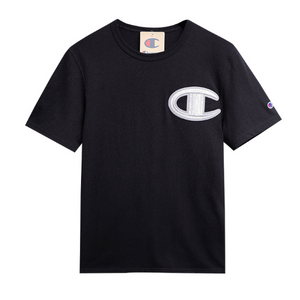 "Champion Men's T-Shirt Classic 5.5"" Super Logo Light Weight"