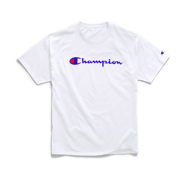 Champion Men's Classic T-shirt with Champion Script