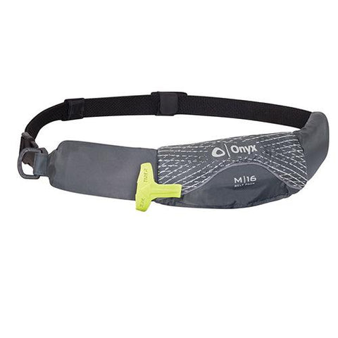 Onyx M-16 Belt Pack Inflatable PFD-Grey -  - www.vamolife.com - www.vamolife.com