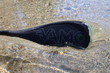 Full Carbon Fiber, fixed shaft, Paddle with ABS Edge  - SR71 Black - SUP_Paddleboard_Paddle_V_Drive_blade - VAMO - www.vamolife.com