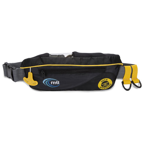 MTI Adventurewear SUP Safety Belt, Black/Dark Gray, Universal