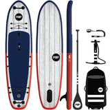"11'6 x 36"" El Capitan Blue/Red Inflatable Paddleboard-ISUP"