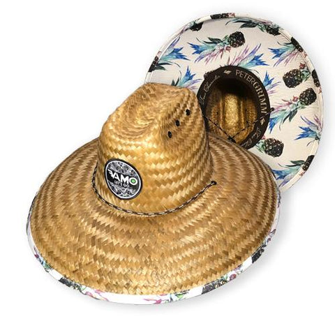 """Let's Go...Paddle!"" Beach Comber Hat ""Pinacolada"""