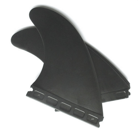 "Single tab fin box style side bite fins 3.5"" (set of 2) -  - VAMO - www.vamolife.com"