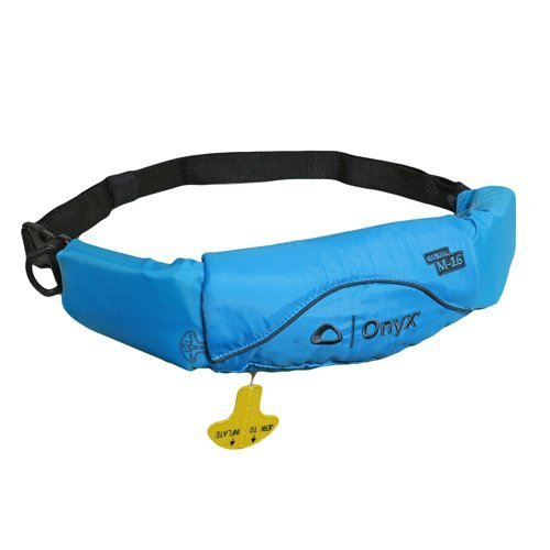 Onyx M-16 Manual Inflatable Belt Pack Life Jacket - Blue ONX3516sailblue__ - QuiverSports.com